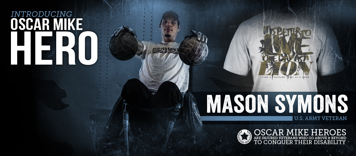 Mason Symons Hero Tee