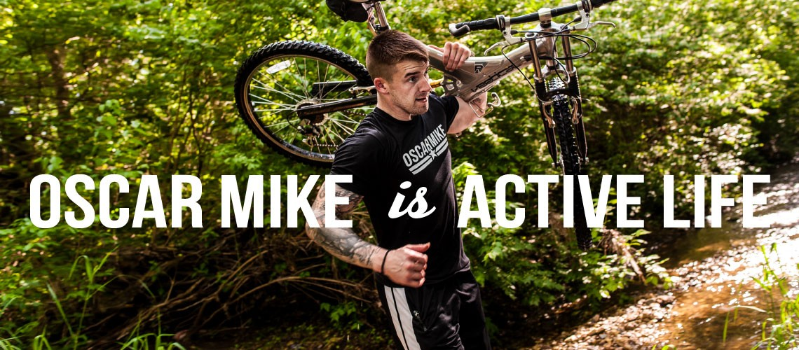 Oscar Mike is Active Life