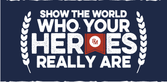 Show the world who your Heroes really are.