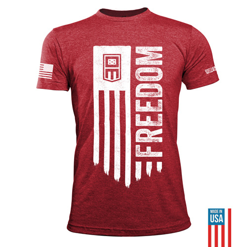 OM_Website_FreedomTee_HeatherRed_White_500x500